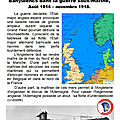 La bataille de l'Atlantique, août <b>1914</b>-novembre 1918