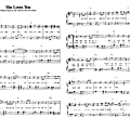 She loves you (01) (Partition - Sheet Music)