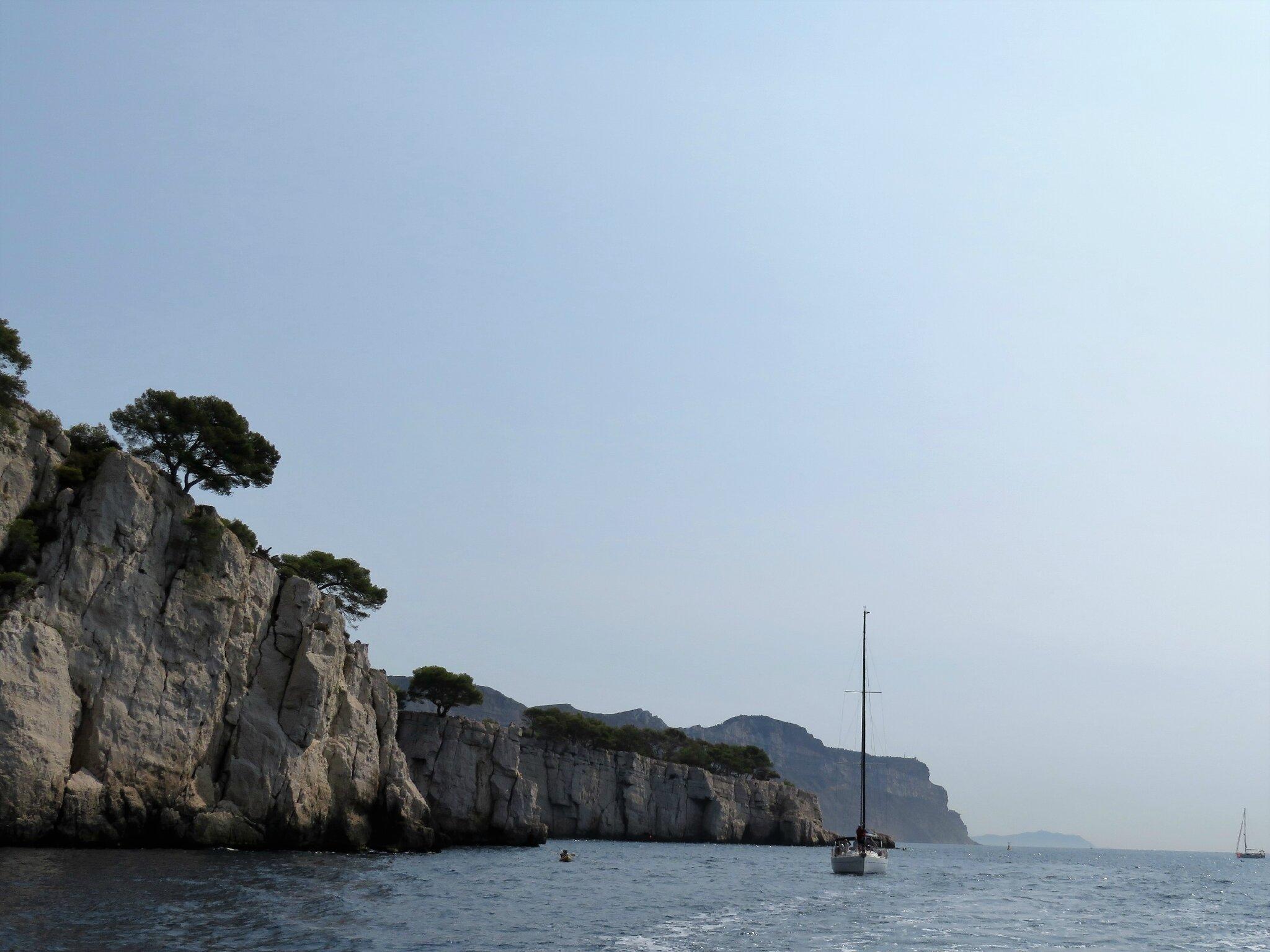 Falaises côtières entre Cassis et Marseille 2/7
