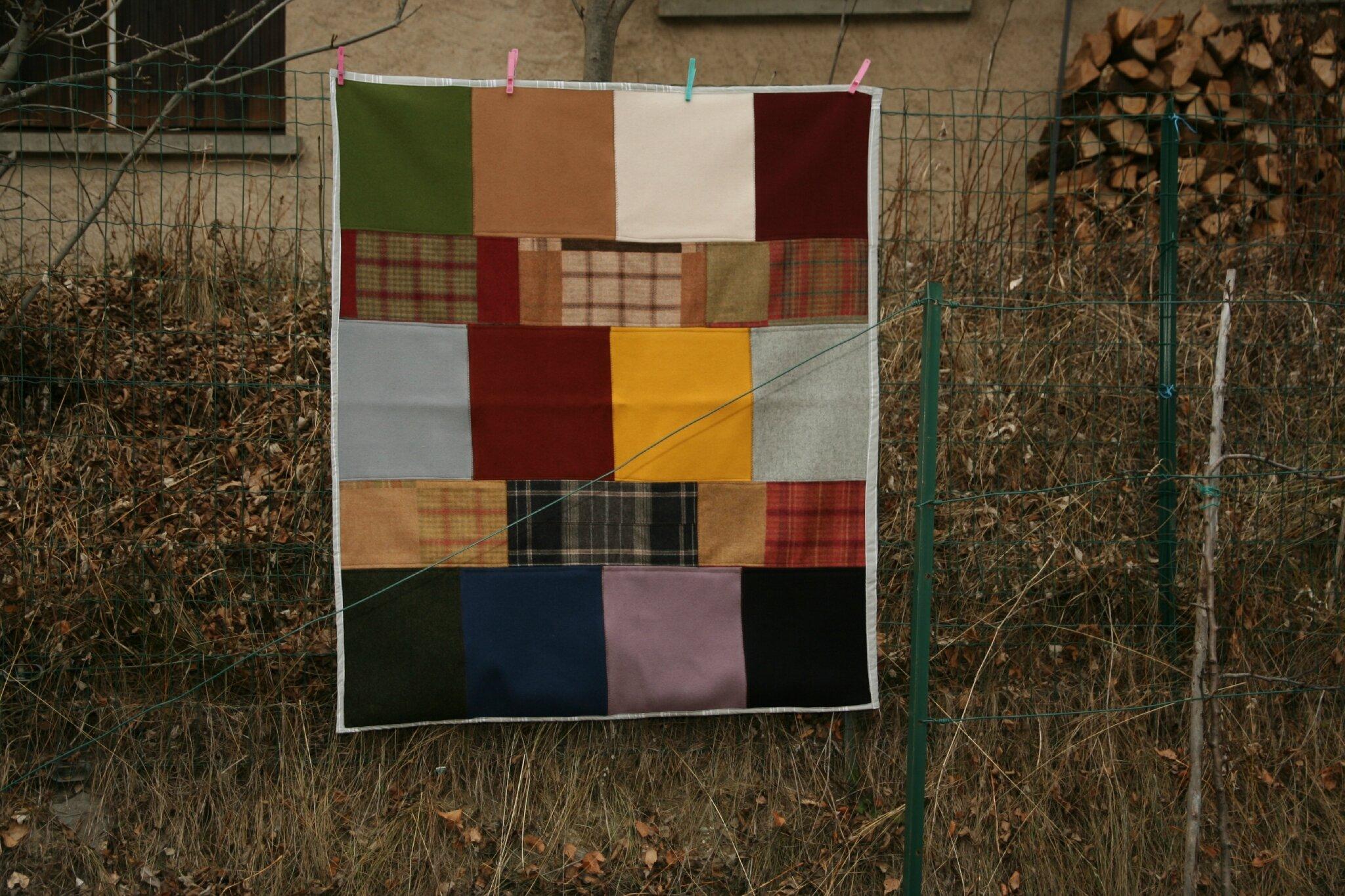 plaid en laines de chez ARPIN