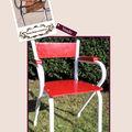 <b>Chaise</b> année 50