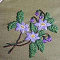Fleur juin violette #6