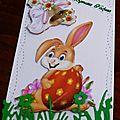 Des cartes de Micheline pour Pâques
