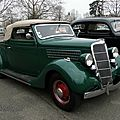 <b>Ford</b> Model 48 DeLuxe convertible cabriolet-1935
