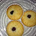 Minis muffins aux amandes