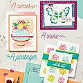 Catalogue printemps/été et sale-a-bration....