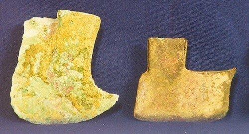 Haches de bronze