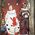 Les <b>Saltimbanques</b> ( 1888) de Fernand Pelez au musée des Beaux Arts du Petit Palais
