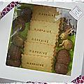 Coffrets biscuits personnalisés (+ macarons ou meringues)