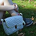 #Couture, sac besace #<b>Chouette</b> <b>kit</b>, Summer Ride