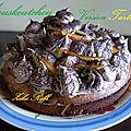 Mouskoutchou gâteau algérien/ version tarte a la crème