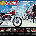 Yamaha 125 YAS3 1972