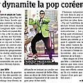 Psy continue de faire le buzz et les journaux français n'y échappent pas