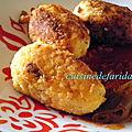 Banatages(boulette de pomme de terre farcies à la viande)