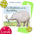 The Elephant and the bad Baby, cycle 3. Séquence food / like