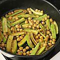Couscous aux courgettes à la marocaine