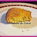 Gâteau à l'orange et aux kiwis