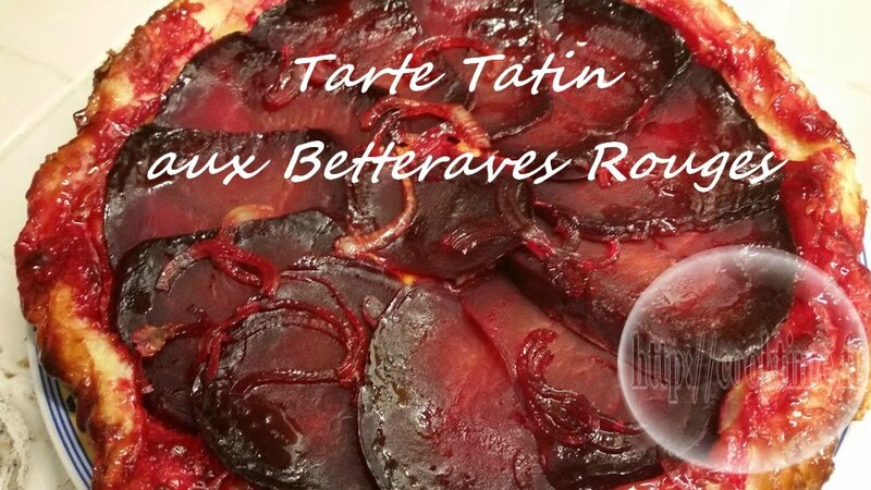interesting tarte tatin aux betteraves rouges thermomix with betterave rouge cuisson vapeur. Black Bedroom Furniture Sets. Home Design Ideas
