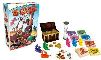 Boutique jeux de société - Pontivy - morbihan - ludis factory - El capitan