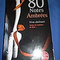 80 notes Ambrées