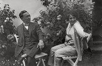 Kandinsky et sa femme
