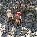 Les jumeaux en randonnée