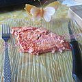 Gâteau d'omelette aux tomates