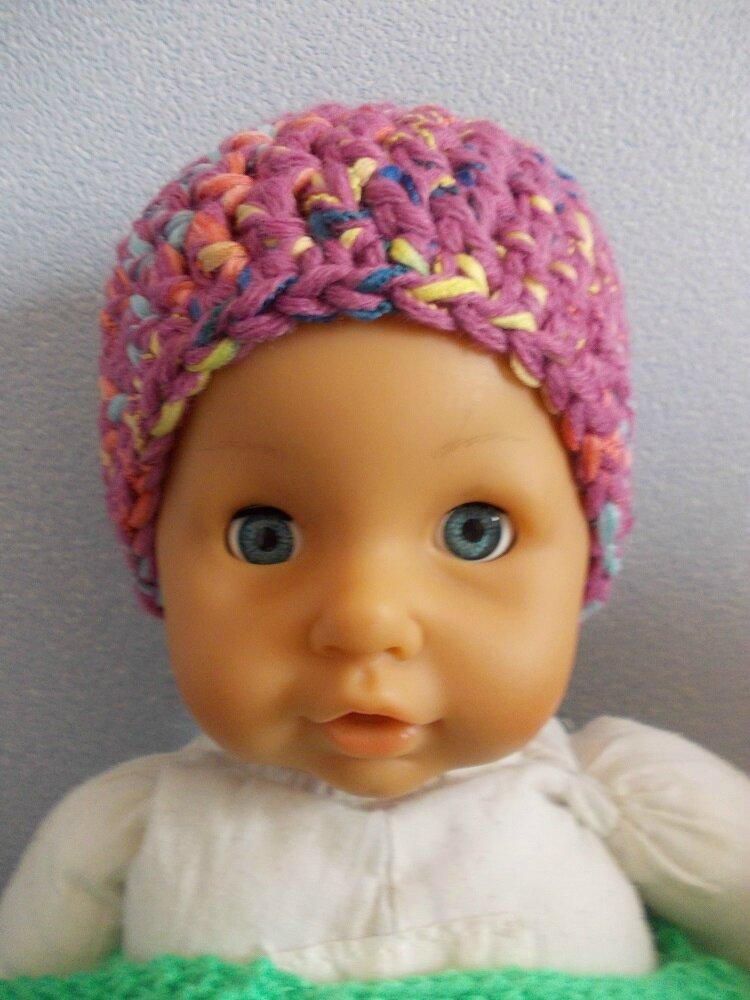 Un petit bonnet pour préma