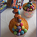 Gravity muffin aux smarties