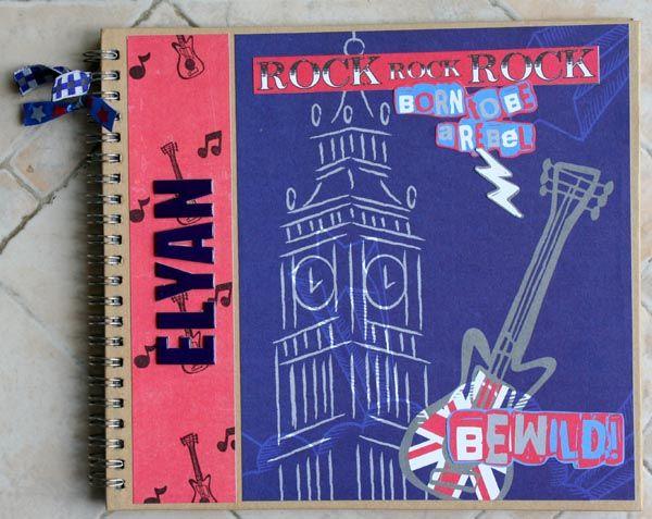 carnet et pot à crayons - collection london rock 005