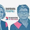 DIMANCHE EN POLITIQUE SUR FRANCE 3 N°37 : BARBARA POMPILI & <b>ERIC</b> <b>COQUEREL</b>