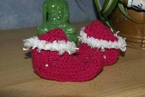bulle de laine chaussons de lutin