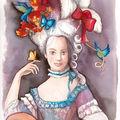 Madame ! | aquarelle | 21 x 29 cm