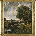 Constable's celebrated composition <b>The</b> Lock sells for $13.7 million at Sotheby's London