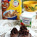 Madeleines au chocolat et glaçage carré frais & banania {recette de goûter + goodies à gagner}
