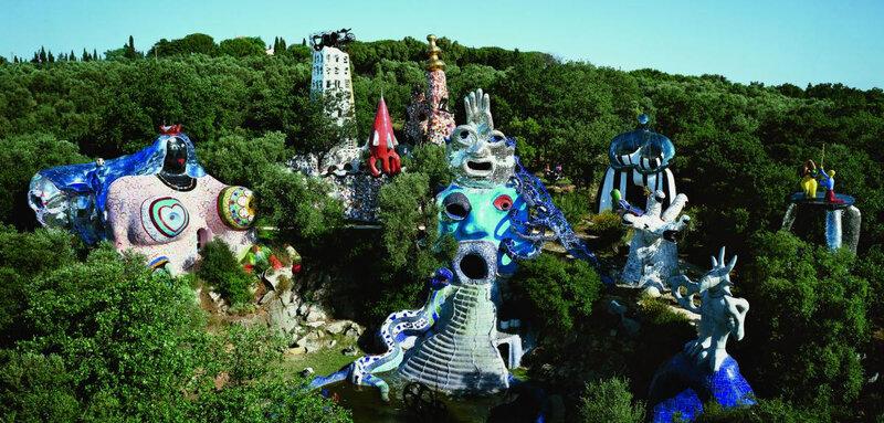 Jardins de Tarot Niki de Saint Phalle