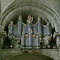 Collégiale St Jean, les orgues.
