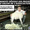 Sarkozy dévoile son programme au salon de l'agriculture