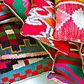 Rock the Kabah - coussins kilims vintage