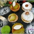 Petits gâteaux briochés à la figue ou fourrés à la confiture