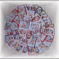 50 cartes '' Noel '' collage de la part de ma fille