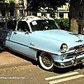 Plymouth belvedere de 1954 (34ème Internationales Oldtimer meeting de Baden-Baden) 01