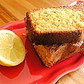 My famous and delicious lemon cake (cake au citron)