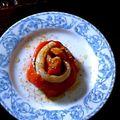 Rose de merlu a la vanille