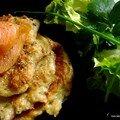 Röstis poivrés au saumon fumé