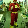 Flash peut bien faire semblant de se battre...