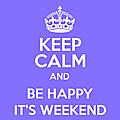 Keep calm...mais pas que...!!!