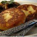 Recettes salees # la 6eme : potato cakes