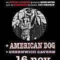 Skinny Molly + American <b>Dog</b> + Greenwich Cavern