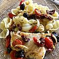 Filet de Poisson à l'italienne